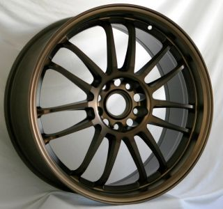 18x8 5 Rota SVN Wheels 5x114 3 Rims ET48MM Fits RSX TSX TL Eclipse