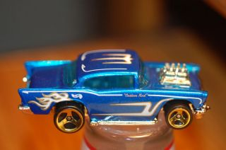 99 Hot Wheels 57 Chevy Blue 50s Cruisers 5 Pack