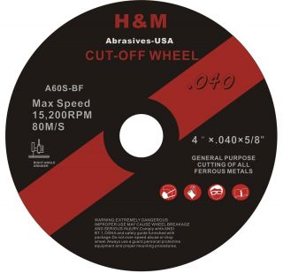 50 4x 040 Cut Off Wheels for Stainless Steel Metal Cutting Disc