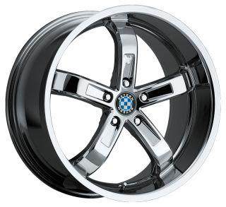 18x9 5 Beyern Five Chrome Wheel Rim s 5x120 5 120 18 9 5 BMW