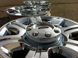 350 RANCH FX4 LARIAT SUPERDUTY POWERSTROKE OEM 20 CHROME WHEELS RIMS