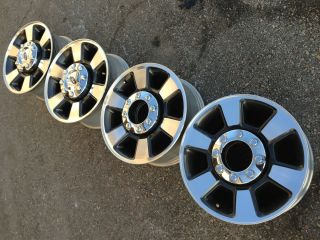 FORD f250 f350 LARIAT POWERSTROKE OEM FACTORY STOCK WHEELS RIMS 8X170