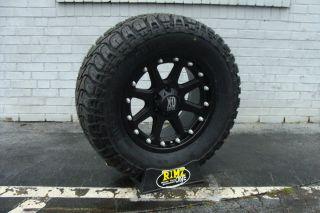 Addict 798 Black Wheels 305 70R18 Mickey Thompson ATZ 35x12 50 18 35