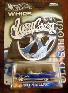 Hot Wheels Whips West Coast Customs 59 Cadillac