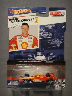 HOT WHEELS REAL RIDERS IZOD INDY CAR SERIES HELIO CASTRONEVES #3