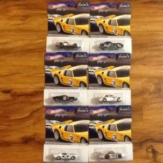 VHTF RARE Hot Wheels Racing Road Racer Complete Set of 6 Mint