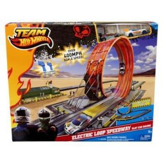 Team Hot Wheels Electric Loop Speedway Slot Car Racing New Ships