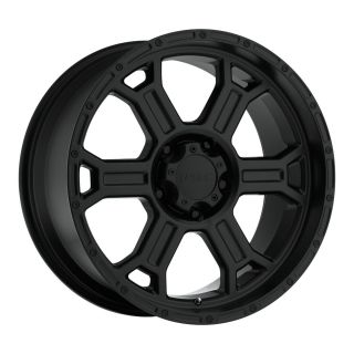 16 inch V Tec Raptor Black Wheels Jeep Wrangler Ranger