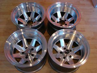 RARE 70s 15x10 Desert Racing Wheels Rims Mags 5x5 5 Dodge W150 RAM