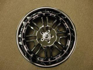 22 American RACING333 Set of 4 Wheels Rims Blow Out 300 Nitro Caliber