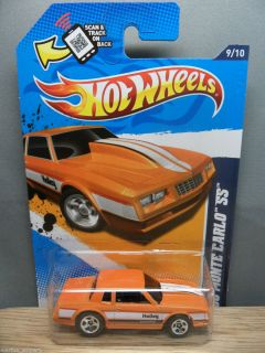 2012 HOT WHEELS 1 64 PERFORMANCE 1986 CHEVY MONTE CARLO SS 149 ORANGE