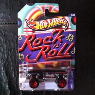 2013 Hot Wheels Jukebox Rock & Roll 56 FLASHSIDER Truck NEW RELEASE