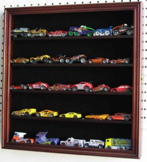 Hot Wheels 1 64 Scale Diecast Display Case Wall Rack Cabinet Hinged