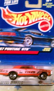 Hot Wheels 67 Pontiac GTO 226 Orange 1999 New 1 64 Diecast Car