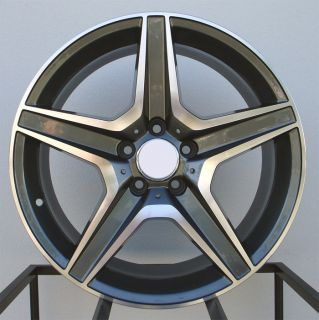19 C63 AMG Style Wheels Rims Fit Mercedes C250 C300 C350 2008 2012