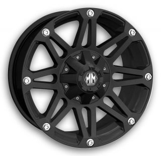 Black Rims with LT295X70X18 Nitto Trail Grappler Tires Wheels