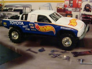 Hot Wheels Toyota Tundra Baja Race Truck 1 64 Scale Edit 2 Detailed