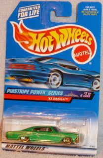 Hot Wheels 65 Chevy Impala Lowrider Col 955 Pinstripe Power Series
