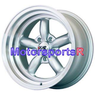 512 Silver Rims Deep Dish Wheels Old shool 65 67 68 Ford Mustang GT