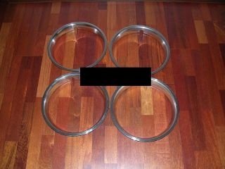 Mercedes 230SL 250 SL 113 Wheel Trim Rings Rim