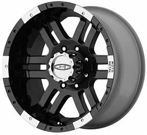 16 Inch 16x8 MO951 BLACK WHEELS 6 Lug Rims Toyota Truck Tacoma FJ GMC