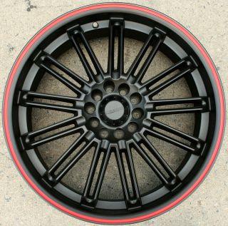 KASINO SLOT 679 20 BLACK R RIMS WHEELS BLAZER S 10 SONOMA 4WD 20 X 7 5