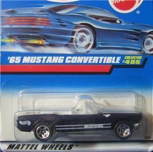 Hot Wheels  65 Mustang Convertible 455 A
