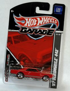 Hot Wheels Garage 1967 67 Oldsmobile Olds 442 Red