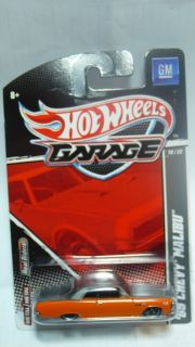 2011 Hot Wheels Garage 65 Chevy Malibu 10 22
