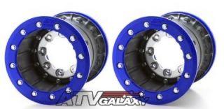 Hiper Tech 3 Rear Wheels Rims Yamaha Raptor 700 9 x 9