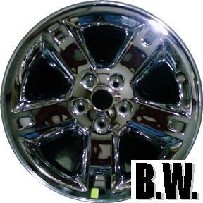 09 DODGE DURANGO DAKOTA 18 CHROME CLAD WHEEL USED OEM FACTORY RIM 2338