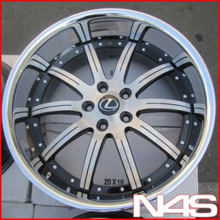 Machined Concave Lexus gs350 GS450 GS460 Staggered Rims Wheels