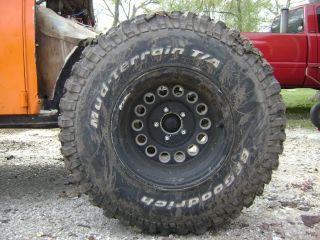 BFGoodrich Mud Tires and Rims
