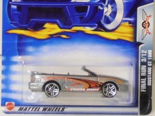 2003 Hot Wheels Final Run Series Mustang GT 1996 1 64 Scale NIP 3 12