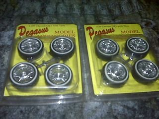 Pegasus Model Car Wire Wheels 2 Sets