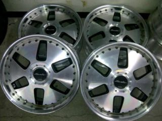 JDM 18 Work Euroline VIP Wheels Rims Nissan 240sx Lexus Honda Accord