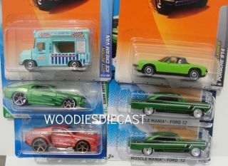 HOT WHEELS 2012 SUPER TREASURE HUNT 66 FORD FAIRLANE T HUNT HIDDEN