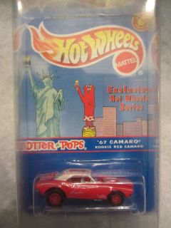 2000 Hot Wheels 67 Camaro Kookie Red Camaro On Rare Twin Towers card 1