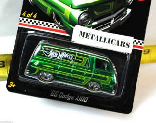 HOT WHEELS 2012 KMART EXCLUSIVE MAIL AWAY REAL RIDERS 1966 66 DODGE