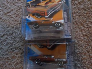Hot Wheels 2012 69 Dodge Coronet Super Bee secret hunt paint variation