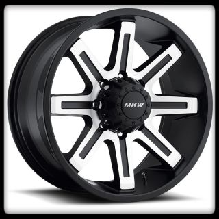 OFF ROAD M88 MACHINED RIMS 265 70 17 FEDERAL COURAGIA AT WHEELS TIRES