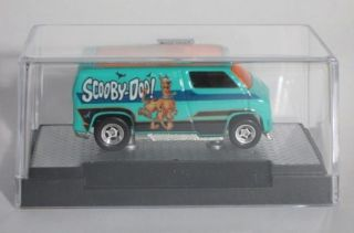 Hot Wheels Scooby Doo Custom 77 Dodge Van w M2 Machines Auto Case