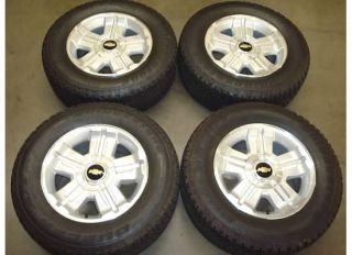Silverado Tahoe Avalanche Z71 Wheels Rims Tires 11 12 Factory