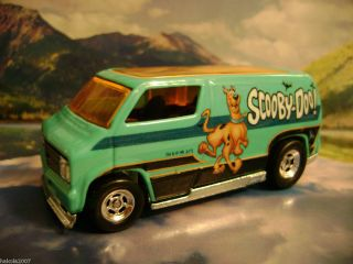 Custom 77 Dodge Van 2012 Hot Wheels Nostalgia Series Scooby Doo