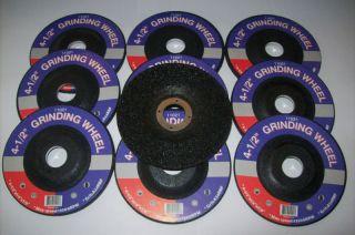 10 4 1 2 Grinding Wheels Fit Dewalt 4 5 Angle Grinder