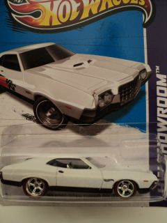 2013 Hot Wheels Kustom Super Treasure Hunt 72 Ford Gran Torino R R