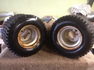 HONDA 200X ATC 200 X PAIR ITP REAR WHEELS RIMS TIRES SEE DESCRIPTION