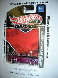 Custom 69 Chevy Pickup 2011 Garage Hot Wheels RARE J Case Release