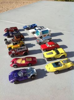 VINTAGE HOT WHEELS REDLINE CARS 12 LOT 1967 74 HIWAY ROBBER PEEPING