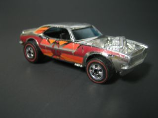 Old Vintage Rare 1974 Hot Wheels Redline Heavy Chevy 1969 Camaro